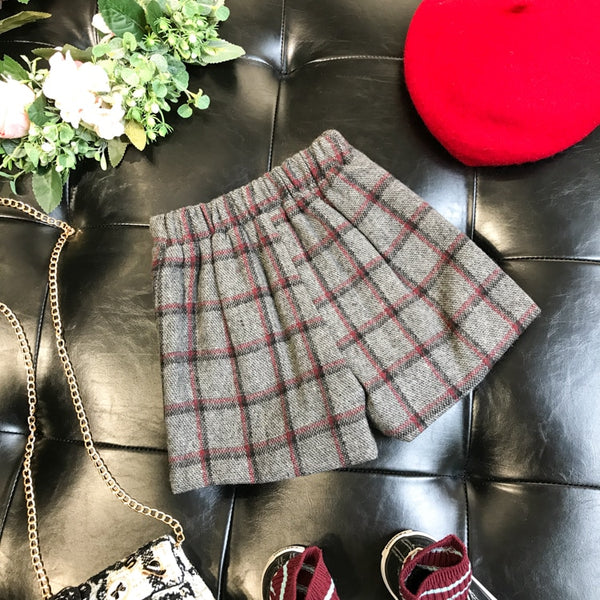 McKenna Plaid Skort