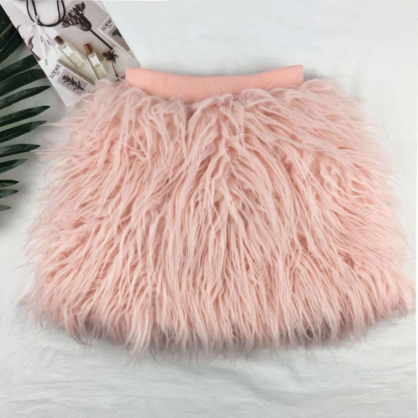 Giselle Fur Skirt
