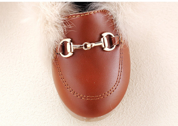Hayden Fur Loafer (with Elastic)