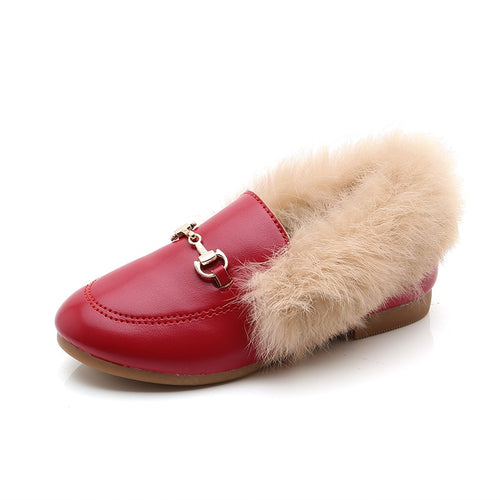 Hayden Fur Loafers