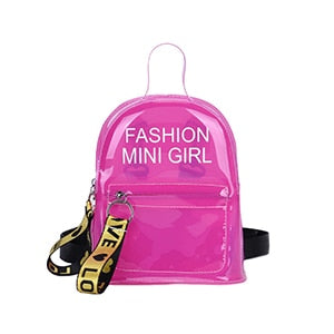 Mini Fashionista Jelly Backpack