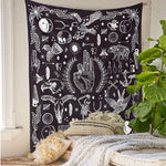 Mystical Apothecary Alchemy Wall Tapestry