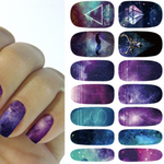 Universal Geometry Water Transfer Sticker Nail Art Decals - 1 Sheet