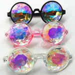 Holographic Kaleidoscope Sunglasses - 3 Colors