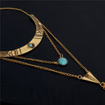 Bohemian Choker Statement Necklaces - 2 Colors