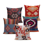 Geometric Turkish Patterns Throw Pillow Cover - 23 Colors