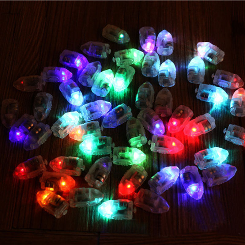 20pcs Colorful LED Balloon Light Glow Flash Ball Lamps Paper Mini Lantern Balloon Lamp Christmas Halloween Party Decoration
