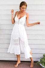 Light & Airy Cotton & Lace Sundress