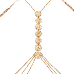 Gypsy Décolletage or Back Chain Jewelry