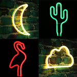 USB Charging LED Neon Lights - 4 Styles