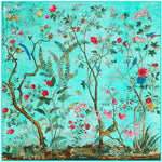 Silk Chinoiserie Scarf - 4 Colors