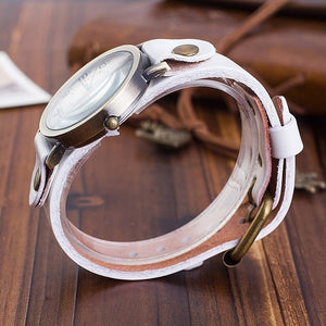 Vintage Style Leather Bohemian Watch - 8 Colors