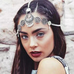 Vintage Antique Silver Headpiece