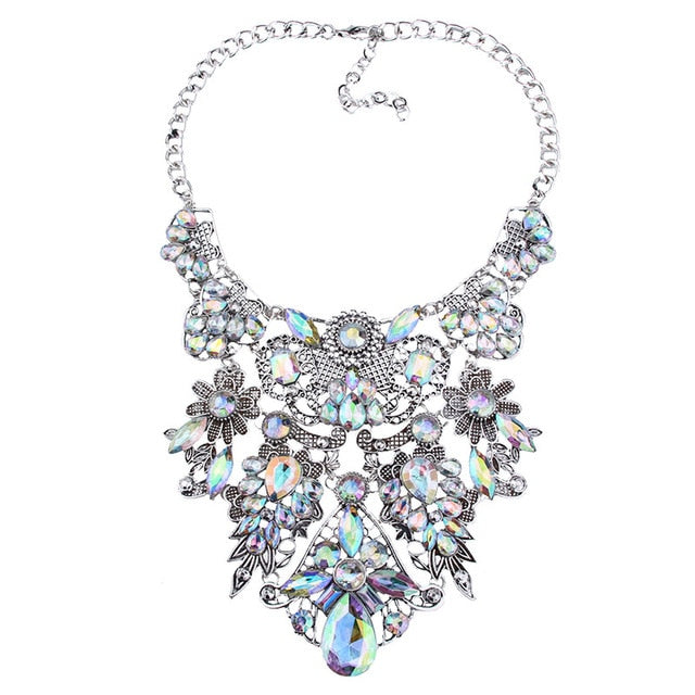 Best lady Special Design Boho Colorful Vintage Maxi Necklace Women Spring Sexy Brand Statement Necklace Hot Wholesale Wholesale
