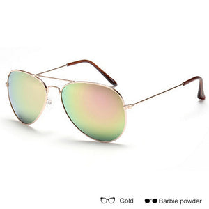 Vintage Mirror Aviator Sunglasses - 17 Colors
