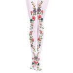 Vintage European Style Floral Stockings
