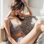 Luxurious Sheer & Lacy Bra and Panty Set - 5 Colors