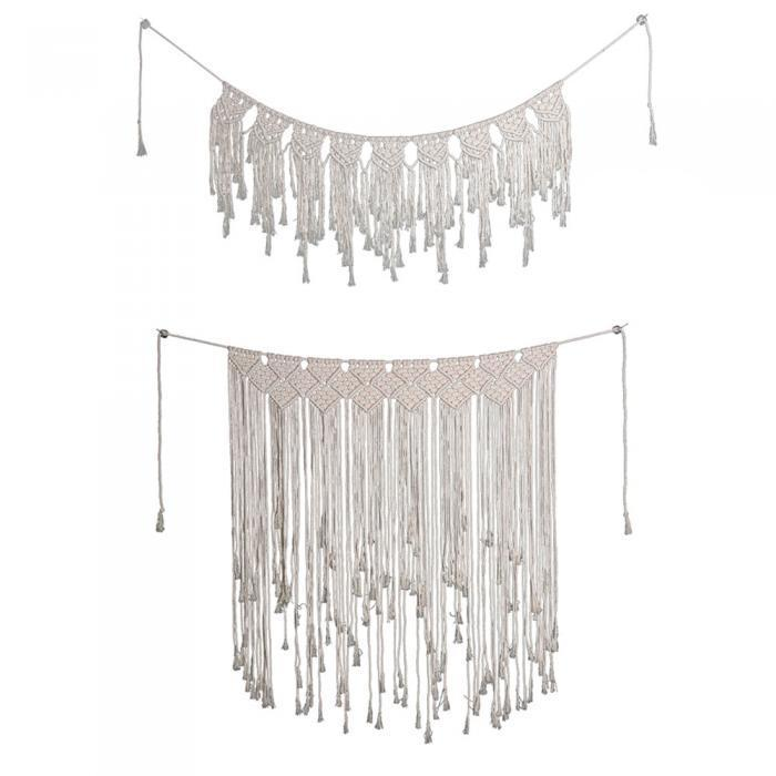 Handmade Macrame Wall Hanging - The Waterfall