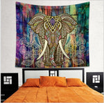 Colorful Hippie Elephant Tapestries - 6 Designs