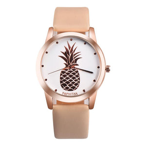 Charming Leather Pineapple Watch - 6 Colors