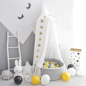 Tent For Kids Crib Mosquito Net Boy Girl Princess Bed Curtain Canopy Children Play House Baby Room Decoration Photography Props