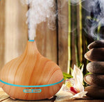 Wooden Essential Oil Diffuser & Humidifier - 2 Colors