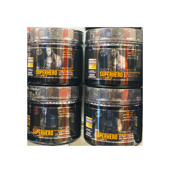 Superhero Pre-Workout Supplement 30g