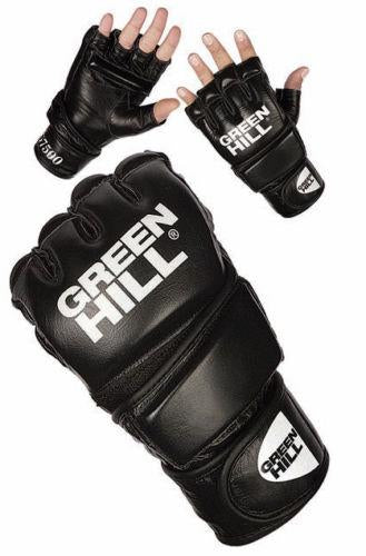 Green Hill MMA Gloves IMMAF Approved