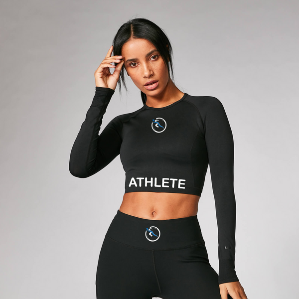 Women's Long Sleeved Base Performance Crop