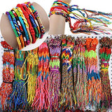 MULTI COLOUR BRAID FRIENDSHIP BRACELETS - 3000