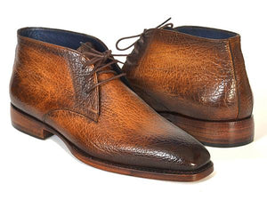 PAUL PARKMAN BROWN & CAMEL CHUKA BOOTS
