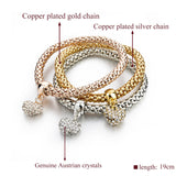 TURTLE CHARM BRACELET INFINITY GOLD SILVER COLOUR - 19 CHOICES - 1PC - Hey Magento