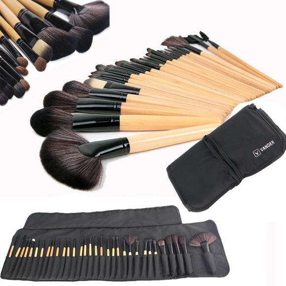 PROFESSIONAL 32 PIECE MAKEUP BRUSH SETt