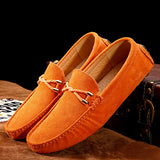 GENUINE LEATHER LOAFER - 6 COLOUR CHOICE - 10 SIZE CHOICE