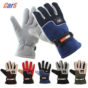 WINDPROOF MOTORCYCLE POLAR FLEECE GLOVES - 5 COLOUR CHOICE - 1 PC - Hey Magento
