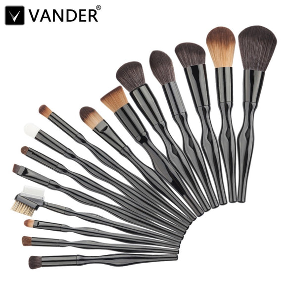 PROFESSIONAL 15 PIECE MAKE UP BRUSH SET