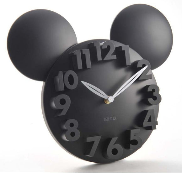 MICKEY MOUSE LARGE DECORATIVE WALL CLOCK - 5 DESIGNS