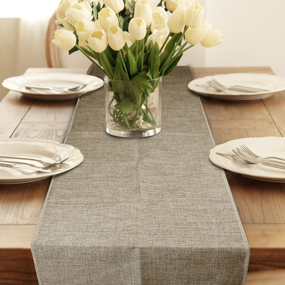 BURLAP RUSTIC TABLE RUNNER DECOR - Hey Magento
