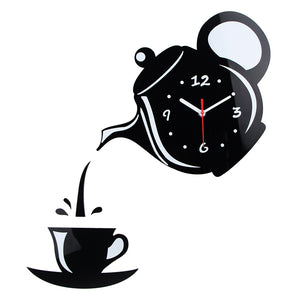 COFFEE DECORATIVE WALL CLOCK - 4 COLOURS - Hey Magento