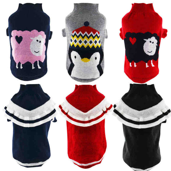 DOG SWEATER FOR SMALL DOG - 65 COLOUR CHOICES - 1PCS - Hey Magento