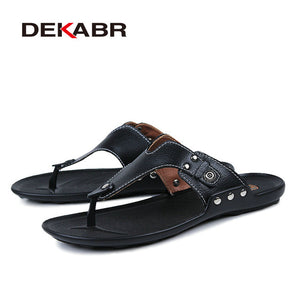 GENUINE LEATHER SANDALS - 4 COLOUR CHOICE - 8 SIZES CHOICE