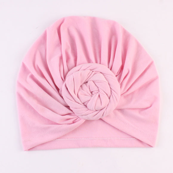 TURBAN SKULLIES KNOT WRAP - 6 COLOURS - 1PC