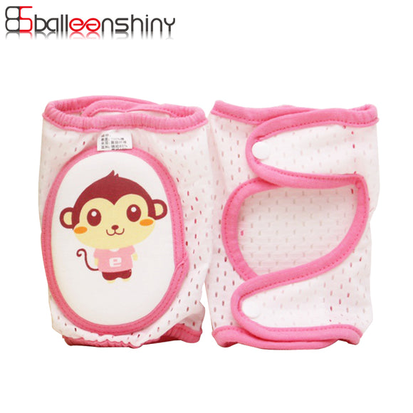 CUTE FUNNY FACE KNEE CRAWLERS - 4 COLOURS