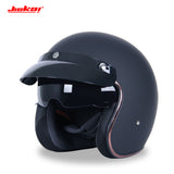 MOTORCYCLE HELMET - 3/4 OPEN FACE VINTAGE - 14 CHOICES - 1PC