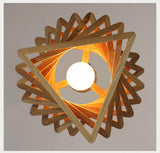 SPIRAL WOOD PENDANT LIGHT - Hey Magento