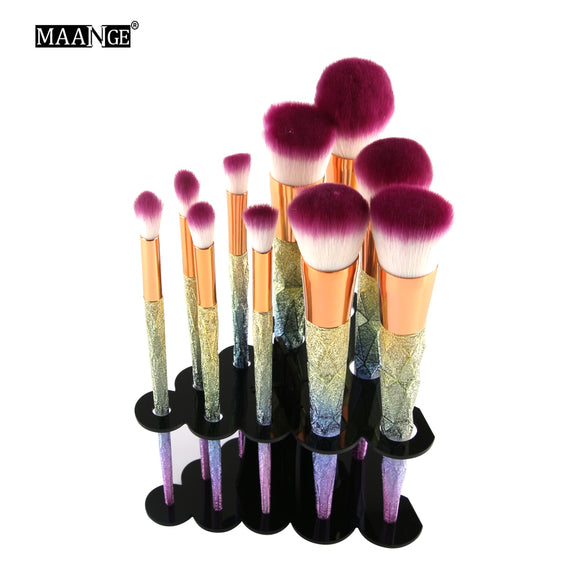 1PCS - ACRYLIC COSMETIC DRYER MAKEUP BRUSH HOLDER STSAND - 6 COLOUR CHOICES - Hey Magento