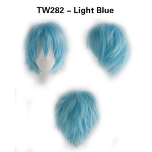 STRAIGHT FULL SHORT WIG - 15 COLOURS - Hey Magento