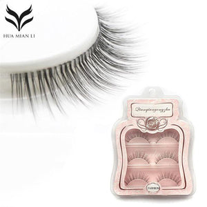 FALSE EYELASHES NATURAL TRANSPARENT - Hey Magento