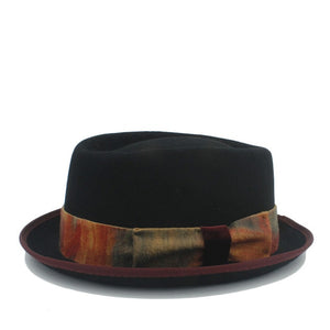 UNISEX WOMEN AND MEN WOOL FELT PORK PIE HAT - Hey Magento