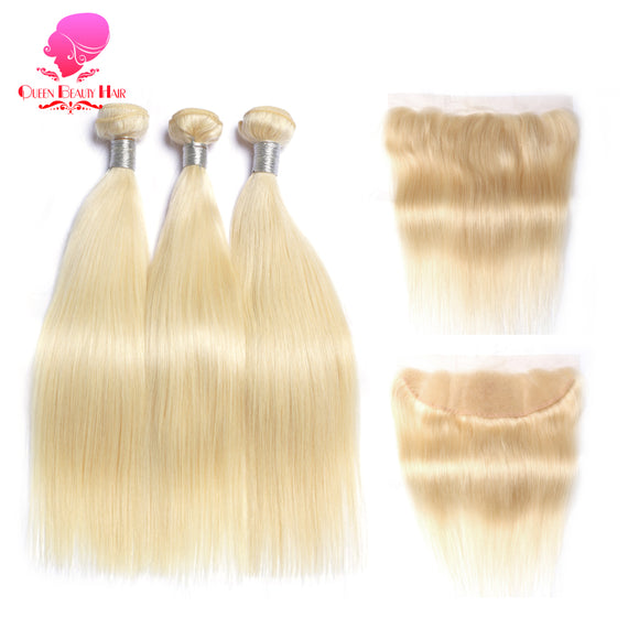 BRAZILIAN BLONDE STRAIGHT 3PC AND 1 PC CLOSURE - Hey Magento